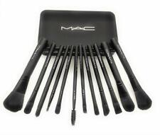 Mac Makeup Brush Set Professional Powder Foundatio Washable Set Of 12 With 1 Box