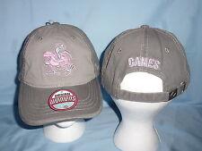 MIAMI HURRICANES Gray/Pink Duo CAP/HAT Zephyr Womens OSFA size NWT $22 retail