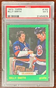 1973 Topps Hockey Billy Smith PSA 5 EX