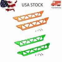 Aluminum Side Trail NERF BARS Metal Skid Plate For 1/5 Traxxas X-Maxx TXM014  US