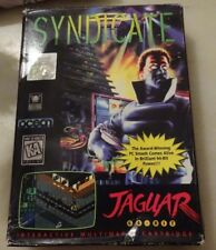 SYNDICATE ATARI JAGUAR 100% ORIGINAL COMPLETO CON CAJA Y MANUAL