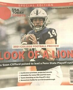 PENN ST NITTANY LIONS SEAN CLIFFORD 2021 USA TODAY COLLEGE FOOTBALL PREVIEW