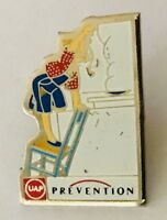 UAP Insurance Brand Protection In The Kitchen Lapel Pin Badge Vintage (C22)