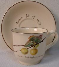 NORITAKE china COUNTRY DIARY-EDWARDIAN LADY pattern Cup & Saucer