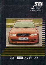 AUDI A4 Saloon SGI bodystyling Accessori in ritardo 1990 S opuscolo di mercato tedesco