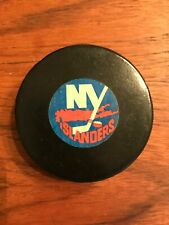 Vintage Viceroy NHL Hockey Puck - NY New York Islanders - Rubber Plastic Rare