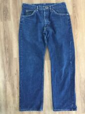 Vintage 1970s Lee Denim Riders Jeans Talon Zip Marked 34x30 Actual 32x29