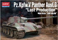 "1/35 Pz.Kpfw.V Panther Ausf.G ""Last Production"" / Academy Model Kit / #13523"