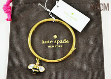 Kate Spade down the rabbit hole queen bee bangle bracelet