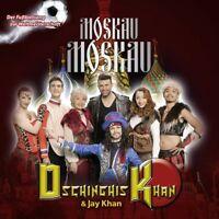 DSCHINGHIS KHAN FEAT. JAY KHAN - MOSKAU MOSKAU   CD SINGLE NEW+