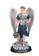 "12"" Inch Archangel Saeltiel Statue Figurine Figure Religious San Saint Angel"