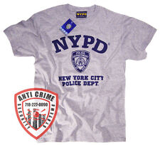 NYPD Shirt T-Shirt Gear Gifts Merchandise Decal Clothing Womens Mens Apparel