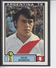 Panini - Argentina 78 World Cup - # 306 Julio Aparicio - Peru