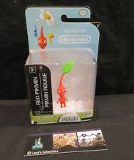 "Red Pikmin action figure World of Nintendo 2.5"" toy"