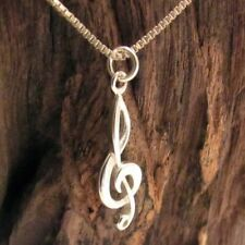 Music-Musical Note .925 Silver Pendant Charm