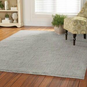 7ft by 10ft grey ethreal indoor/outdoor shag area rug