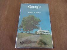 Georgia: A Bicentennial History- Harold H. Martin, 1977, 1st Edition