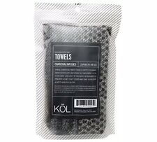 Donnamax Kol Charcoal Infused Towels, Two Towels