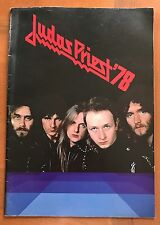 JUDAS PRIEST JAPAN TOUR 1978 Official Program Book