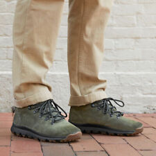 Timberland Men's World Hiker Mid Boots (Size 9) Green Suede - Salesman Sample