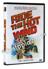 RIDE THE HOT WIND WIDESCREEN DVD (1971) Tommy Kirk 70's biker film Hell's Angels