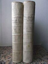 VOCABOLARIO ITALIANO LATINO-VENEZIA 1748-50-OPERA COMPLETA-EX LIBRIS -DICTIONARY
