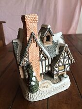 David Winter Cottages SCROOGE'S SCHOOL By John Hine 1992