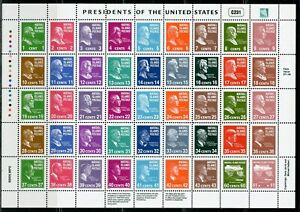 MARSHALL ISLANDS  SCOTT #847 PRESIDENT OF THE US  MINIATURE SHEET MINT NH