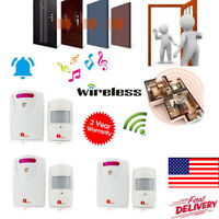 1Byone Alert Alarm System Wireless Driveway Motion Sensor Security Detector 100M