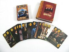 Harry Potter & the Sorcerer's Stone Playing Cards Game Movie Photos Tin Book Box