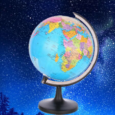 Earth Globe World Map Mini Rotating Tellurion Sphere Geography Educational Toy