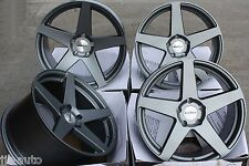 "19"" Calibro CCF sfalsate DEEP DISH Gunmetal Direct Fit 19 pollici Cerchi in lega"