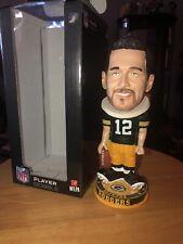 Aaron Rodgers Green Bay Packers Knucklehead Big Head Bobblehead NFL