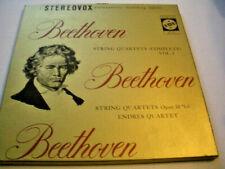BEETHOVEN Complete String Quartet Vol II VOX STEREO 1963 BOX SET 3 x LP