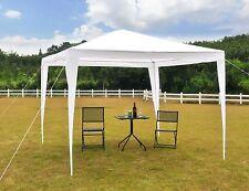 10'x10' Canopy Party Tent Outdoor Gazebo Heavy Duty Wedding PE W/ Bag Pavilion