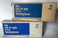 Westinghouse Miniature Light Bulbs #27 Hand Lantern Nos 18 Bulbs