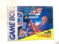Double Dribble 5 on 5 Basketball Original Nintendo Gameboy Instruction Manual