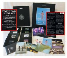 Pink Floyd - Shine On - 9 CD Box Set HDCV Book & Postcards - NEVER PLAYED - MINT