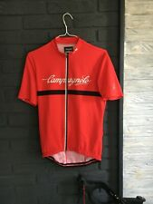 Campagnolo Vintage Style Cycling Jersey  Red  Genuine - Large XL