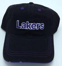 NBA Los Angeles Lakers Nba Elevation adulto diseño bajo ala ajustable gorra  de ajuste 3921036ea6e