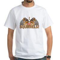 CafePress I Heart / Love Squirrels! White T Shirt Mens T-Shirt (304854096)