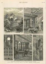 Large Cragside Northumberland Limited Print By Sarah Jane Holt