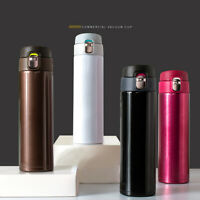 500ml Vacuum Insulated Stainless Steel Coffee Travel Thermos Bottle Cup Mug V