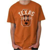 Vintage Texas Sports University Souvenir TX Adult Short Sleeve Crewneck Tee