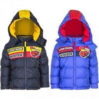 Winterjacke Jungen Disney Cars Jacke Schwarz / Rot - 98 116 128