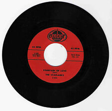 DOO WOP 45 THE STARLARKS FOUNTAIN OF LOVE ON EMBER  STRONG VG REPRO