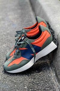New Balance 327 Men's Dark Blaze/Natural Indigo- Lifestyle Sneakers -USA Sz 11.5