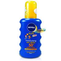 Nivea Moisturising Sun Spray for Kids SPF50+ 200ml UVA/UVB Protection