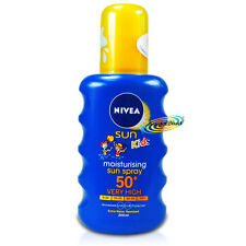 Nivea Moisturising Sun Spray for Kids SPF50+ 200ml UVA/UVB Protection