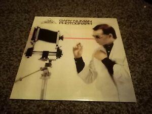 Gary Numan Photograph The Best Of Single Sleeve Album